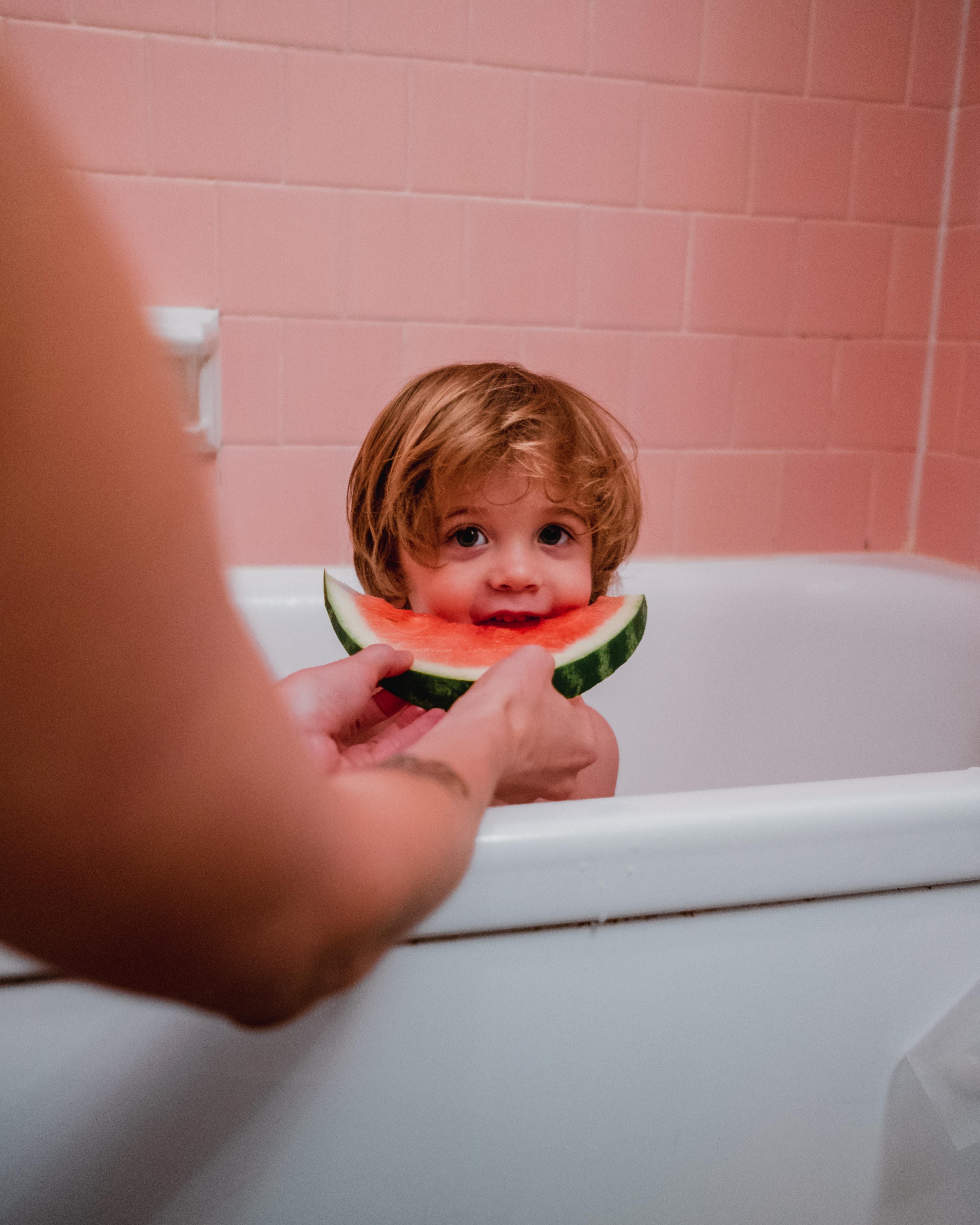 Flot badekar med maling/emaljering